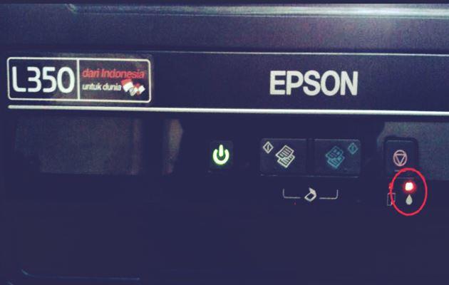 Printer Epson L355 Lampu Berkedip Semua