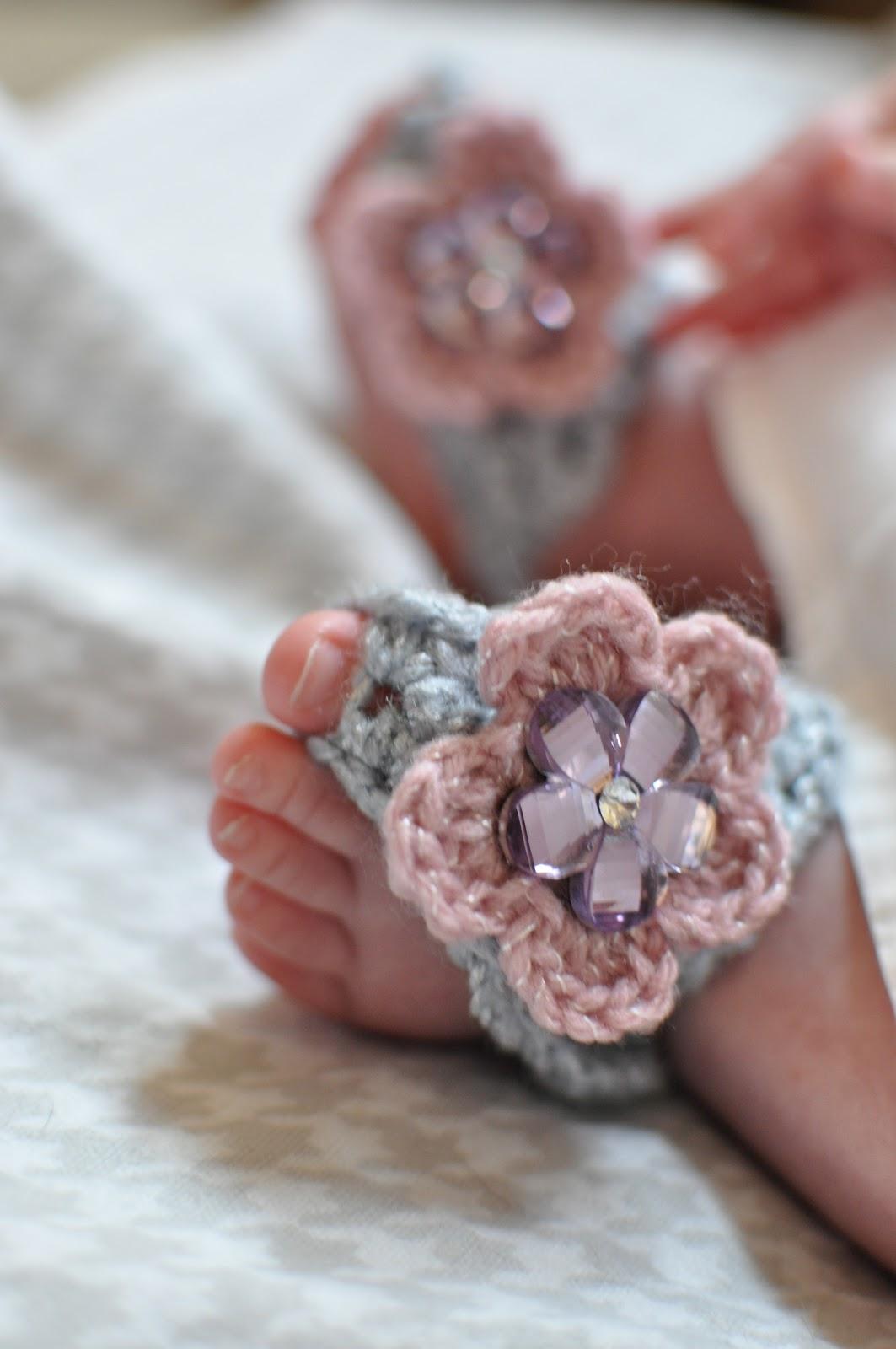 The Misadventures Of Handmade Barefoot Baby Sandals
