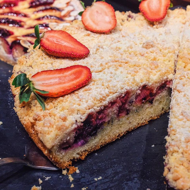 Swiss Berry Tart