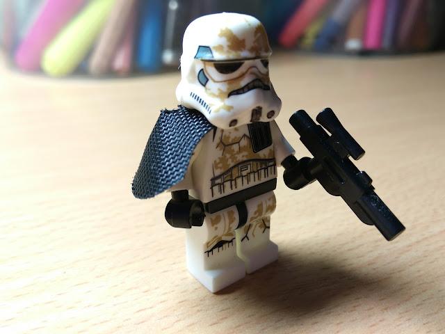 Песчаный штурмовик минифигурка лего купить