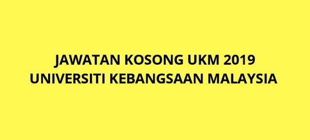 Jawatan Kosong UKM 2021 Universiti Kebangsaan Malaysia