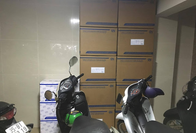 đồ văn phòng đóng thùng