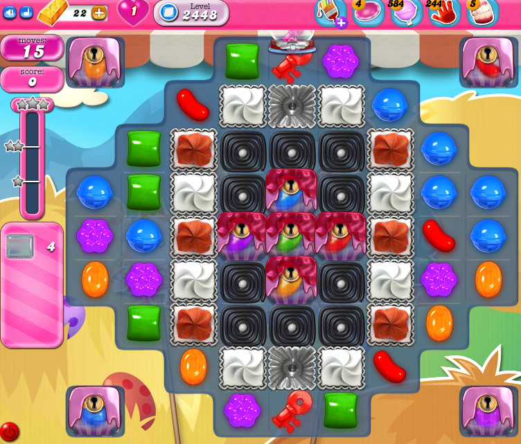 Candy Crush Saga level 2448