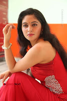 Actress Zahida Sam Latest Stills in Red Long Dress at Badragiri Movie Opening .COM 0142.JPG