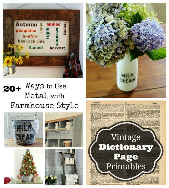 signs, hydranges and lavender, galvanized decor, printables
