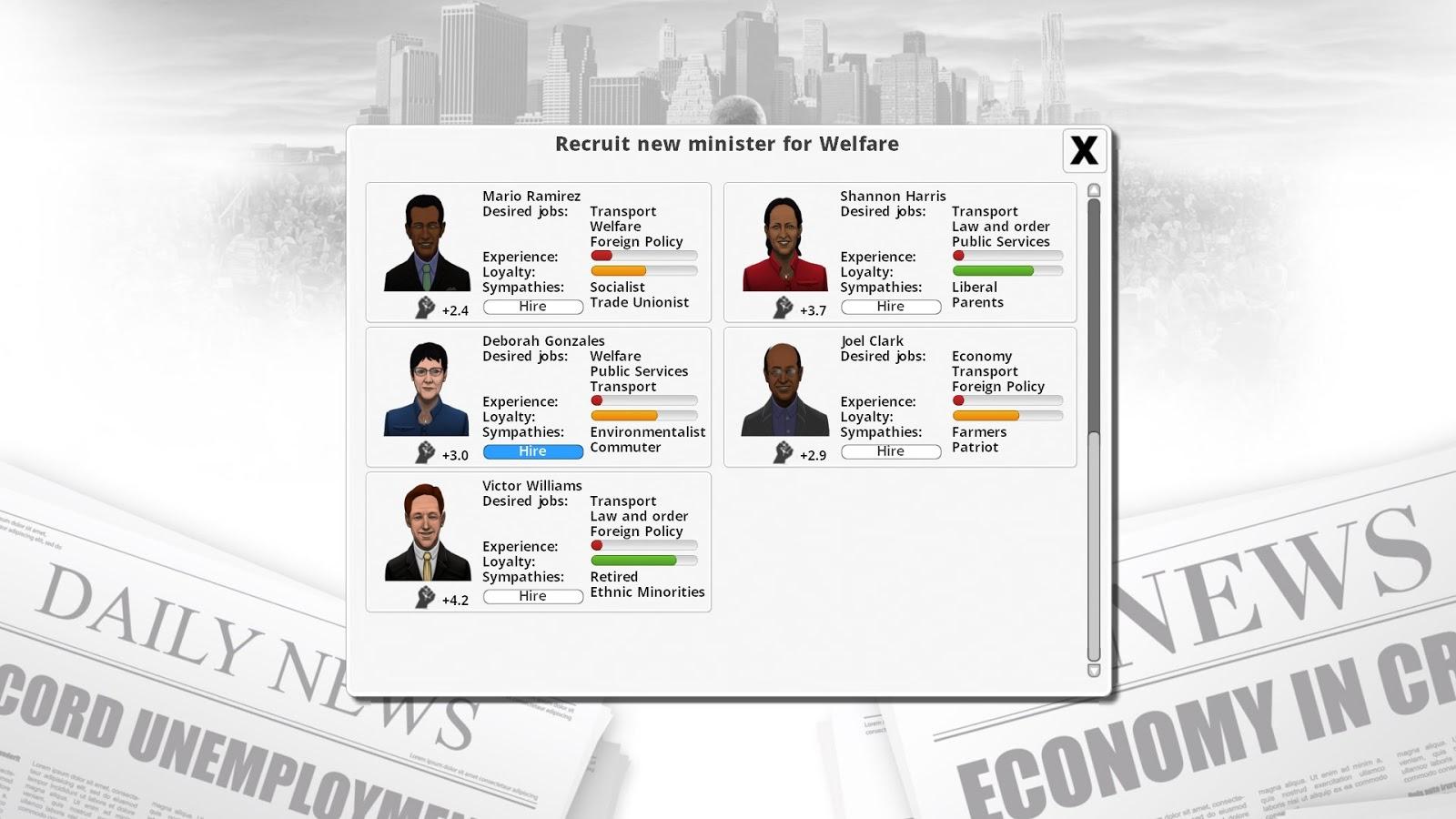 RangerX3X: Democracy 3 United Kingdom (Second Term)