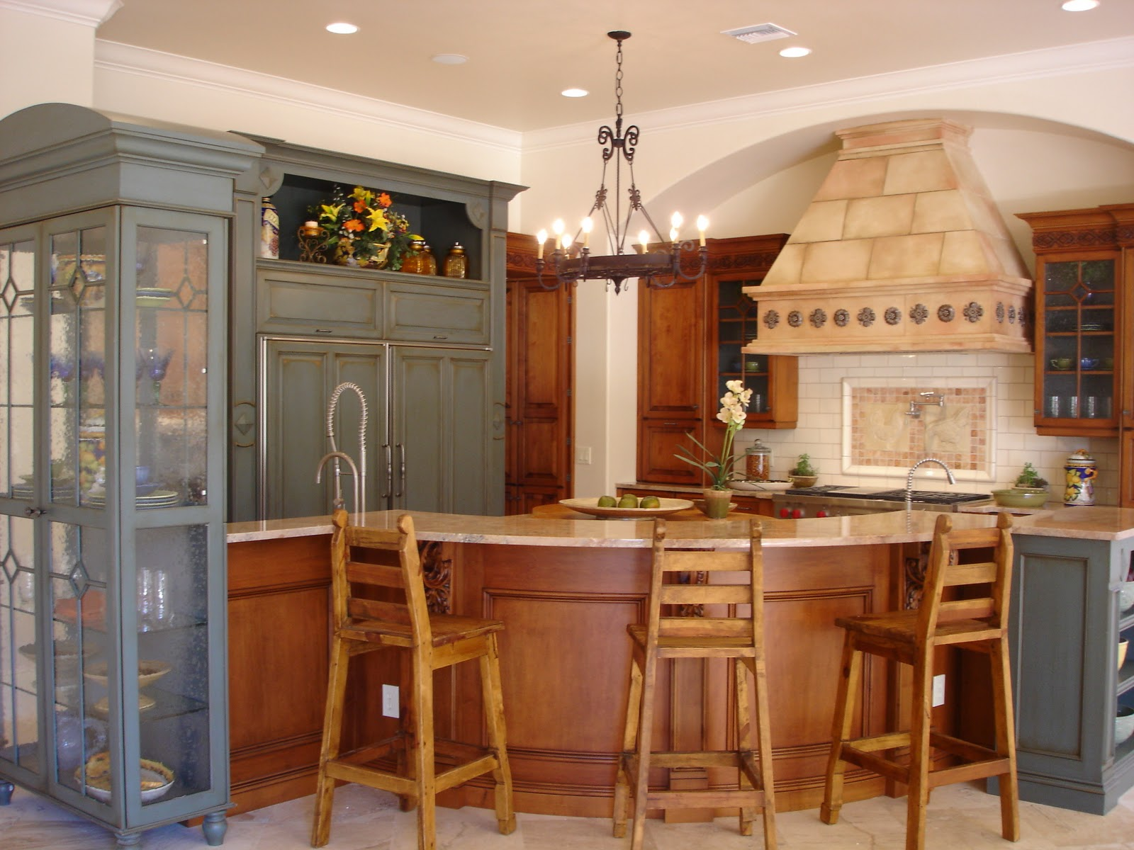 Key Interiors by Shinay Tuscan Kitchen Ideas