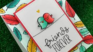How to make friendship day greetings cards at home