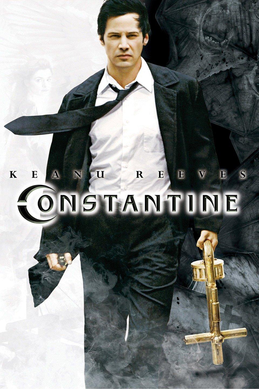 Constantine 2005 Dual Audio Hindi 400MB BluRay 480p