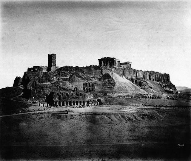 παλιά Αθήνα-παλιές φωτογραφίες της Αθήνας-Αθήνα–Ακρόπολη-λόγια απλά