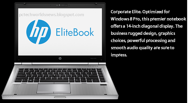 Pc and Technology World News: HP EliteBook 8470p Notebook PC D7X83PA