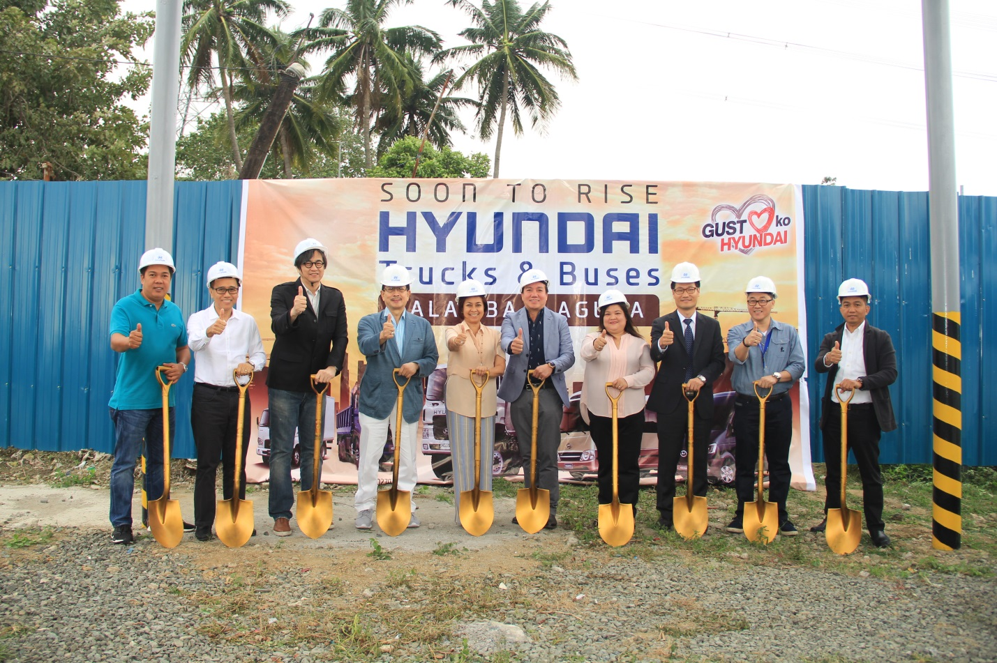 Hyundai Breaks Ground of New Commercial Vehicle Dealership in Laguna
