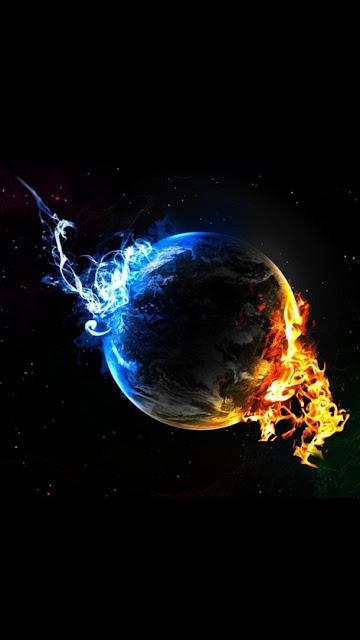 Hình nền trái đất đẹp cho iPhone 7 Plus