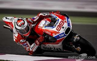 Hasil MotoGP Valencia: Lorenzo Tercepat FP2