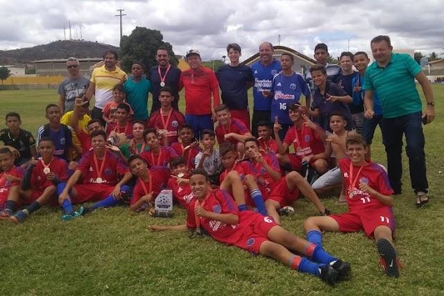 Coordenação da Copa Paraíba Sub 15 de Futebol exclui Serra Branca de sediar jogos
