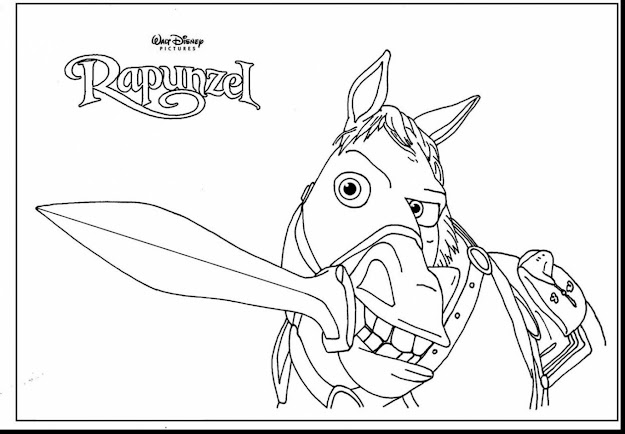 Incredible Rapunzel And Flynn Rider Coloring Pages With Rapunzel Coloring  Page And Rapunzel Coloring Pages Free
