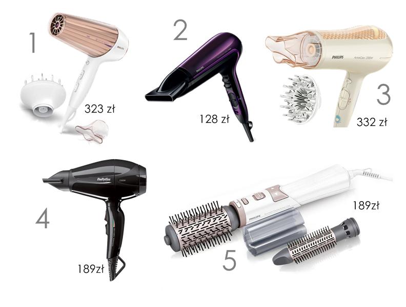 ranking suszarek do włosów