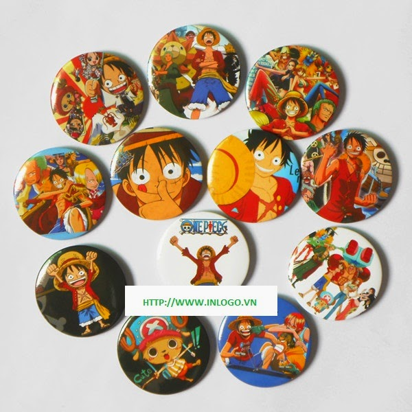 Huy hiệu Anime Manga One Piece