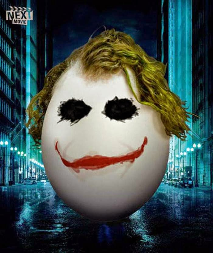 Publicidad Creativa, Pascua, Next Movie, El Caballero Negro, The Dark Knight