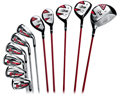 MMI1023 - Environmental Design: A set of golf clubs...