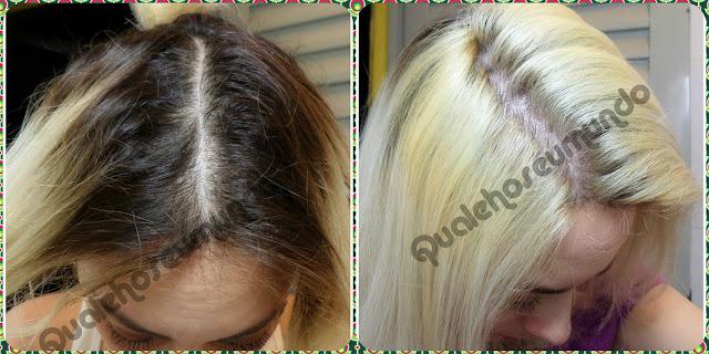 fazer luzes no cabelo em casa