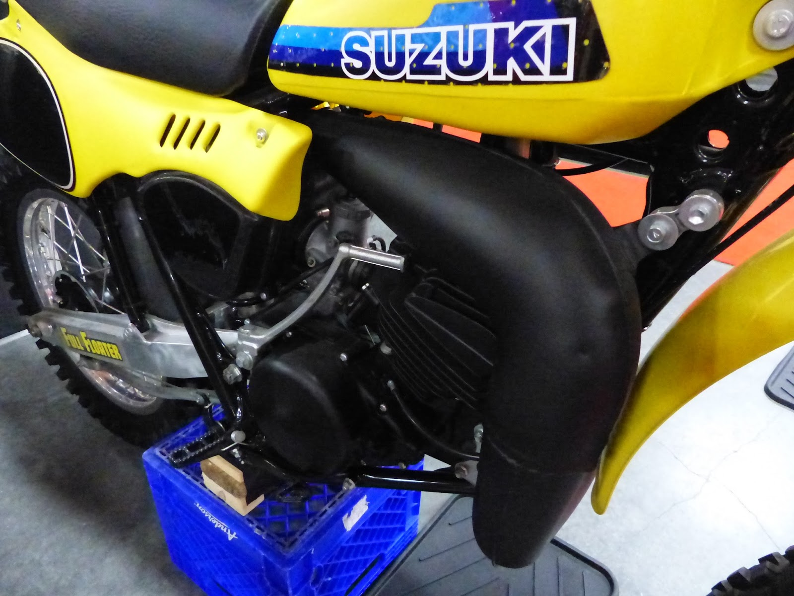 OldMotoDude: 1981 Suzuki RM250 for sale at the 2016 Mecum