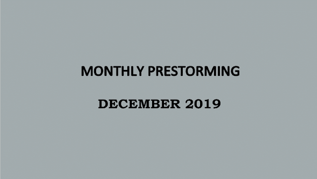 UPSC Monthly Prestorming - December 2019 for UPSC Prelims 2019