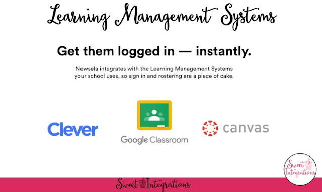 Learning Management Systems - Get them logged in instantly with Clever, Google Classroom, or Canvas