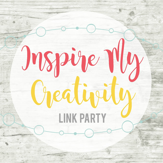Inspire My Creativity: 13 bloggers, 13 projects.  Come be inspired with a new theme each month and then link up your own post!