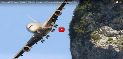 Most dangerous and strangest airport in the world