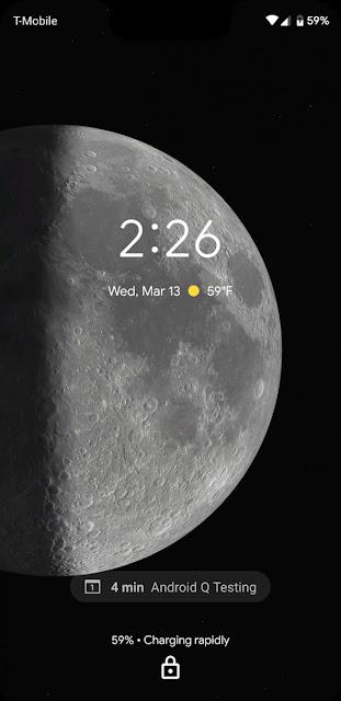 Android Q Beta Google Pixel image