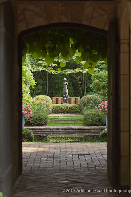 English Garden - Stan Hywet photo by Adrienne Zwart Photography
