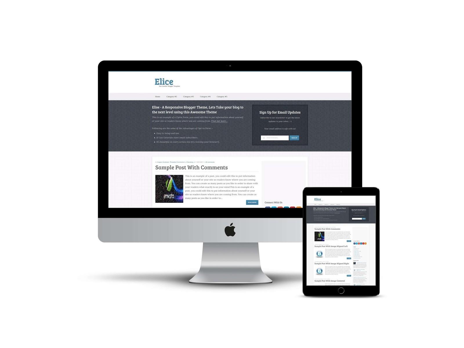 elice-responsive-blogger-theme