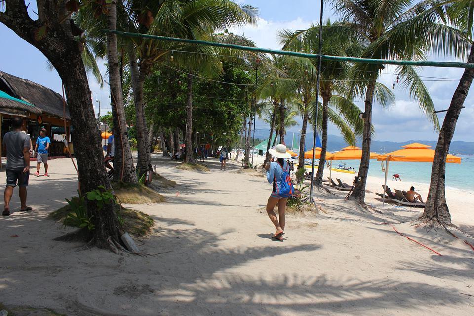 strolling around Boracay, Philippines