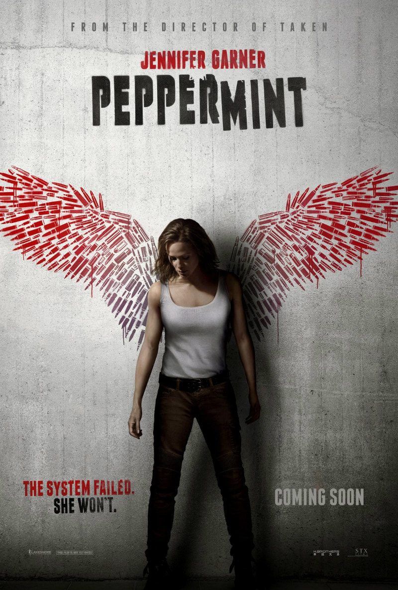 peppermint jennifer garner poster