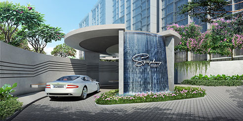 Symphony Suites Entrance
