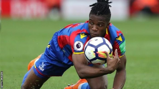 Arsenal Target Zaha Tells Crystal Palace He Wants To Leave