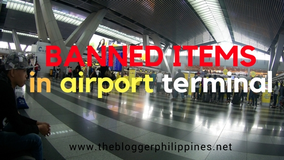 list of banned items in airport