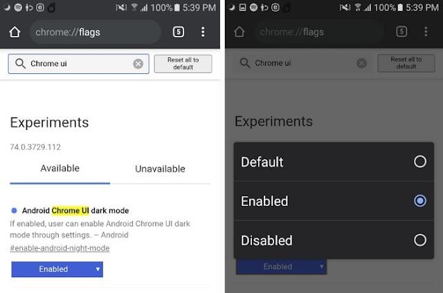 Cách bật Dark mode cho Chrome trên Android,chế độ tối trên Chrome,thủ thuật Chrome,Google Chrome, Cách Bật Chế Độ Dark Mode Cho Chrome Android