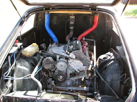 Daily Turismo: 2k: Saaxster: 1986 Saab 900 Turbo, Mid-Engine