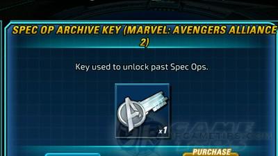 MAA 2 Spec Op Archive Key