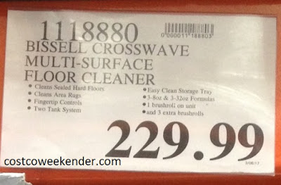 Deal for Bissell Crosswave All-in-One Multi-Surface Cleaner at Costco