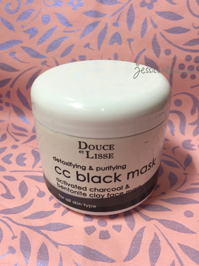 Review : Douce et Lisse CC Black Mask & Vanilla Lip Balm by Jessica Alicia