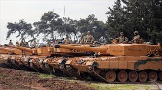 Ankara confirma el uso de tanques alemanes en su ataque a Afrin
