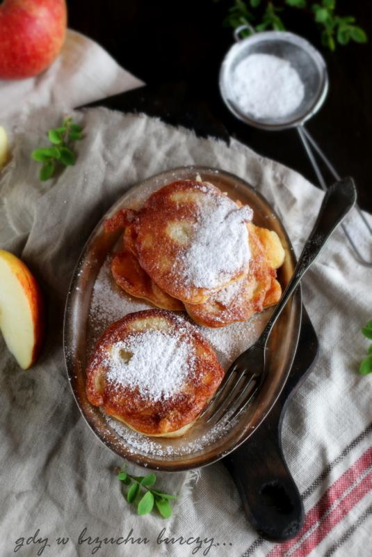 racuchy jabłkowe