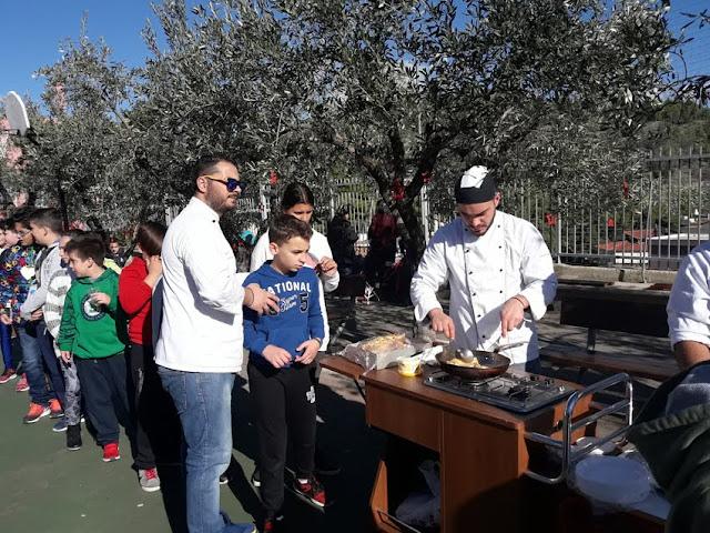 Συμμετοχή της τουριστικής σχολής ΙΕΚ στην εθελοντική δράση του 3ου Δημοτικού σχολείου Άργους