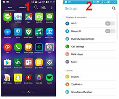 Cara Mudah Memunculkan Sinyal 4G Pada Asus Zenfone