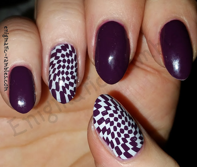 twisted-cheque-nails-nail-art-moyou-123-moyou123