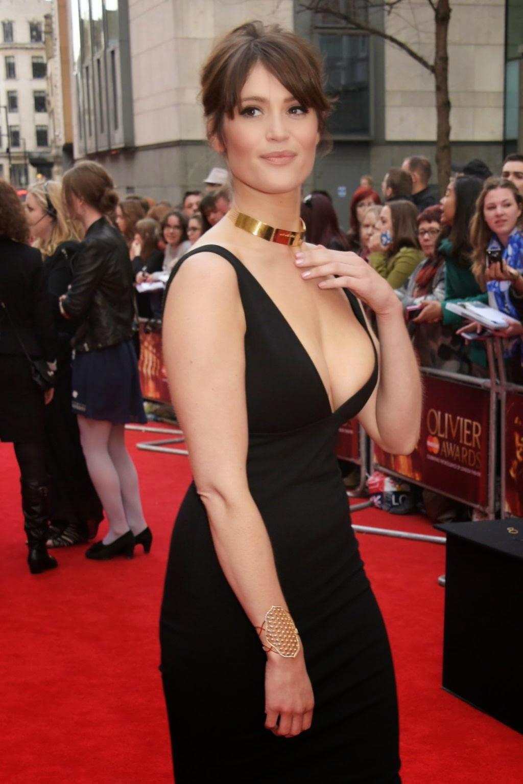 Gemma Arterton – 2015 Olivier Awards in London