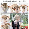 How to make a Messy French Roll